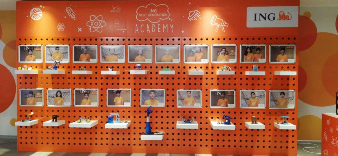 ING Bank Next Generation Academy Interaktif Panosu